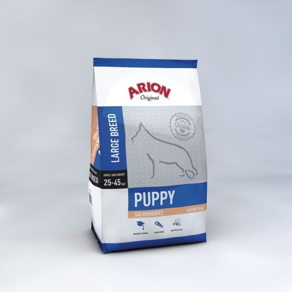Arion Puppy Large Salmon Rice