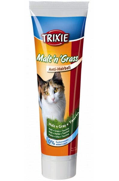 Trixie Anti Hairball MaltnGrass Pasta