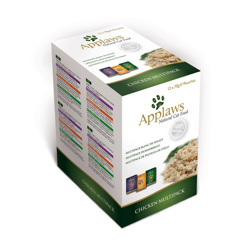 Applaws Cat Kyckling Multipack