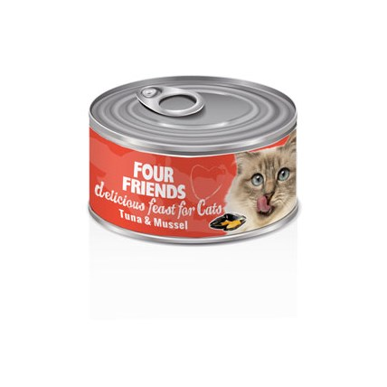 FourFriends Burkmat Tuna Mussel
