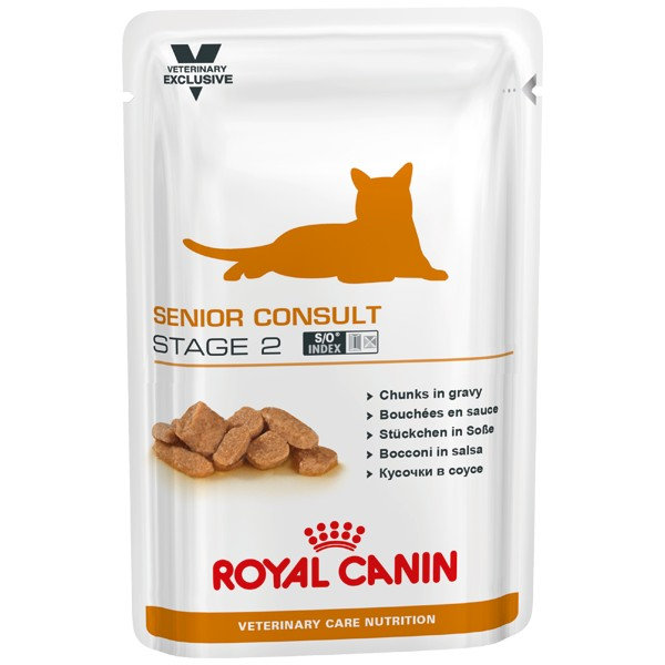 Royal Canin Veterinary Care Nutrition Cat Senior Consult Stage 2 Vatfoder