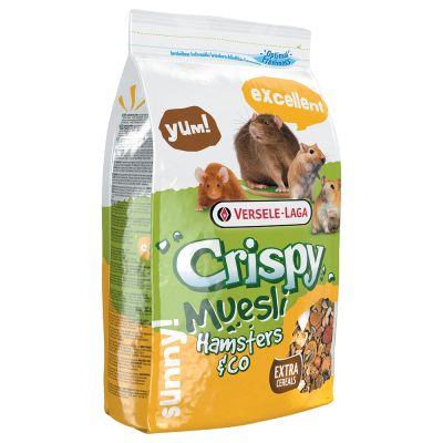 Versele Laga Crispy Muesli Hamsters Co Hamsterfoder