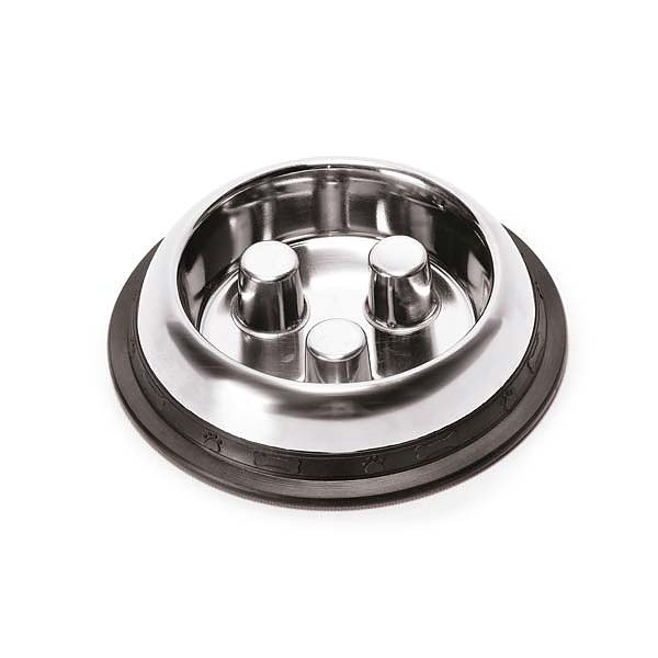 Proselect Stainless Steel Slow Feed Bowl